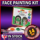 SNAZAROO FACE PAINT CELTIC THEME FACE PAINTING PACK